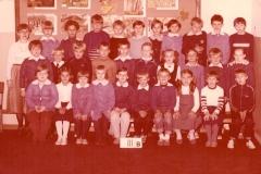 Klasa III b - jesie+ä 1986