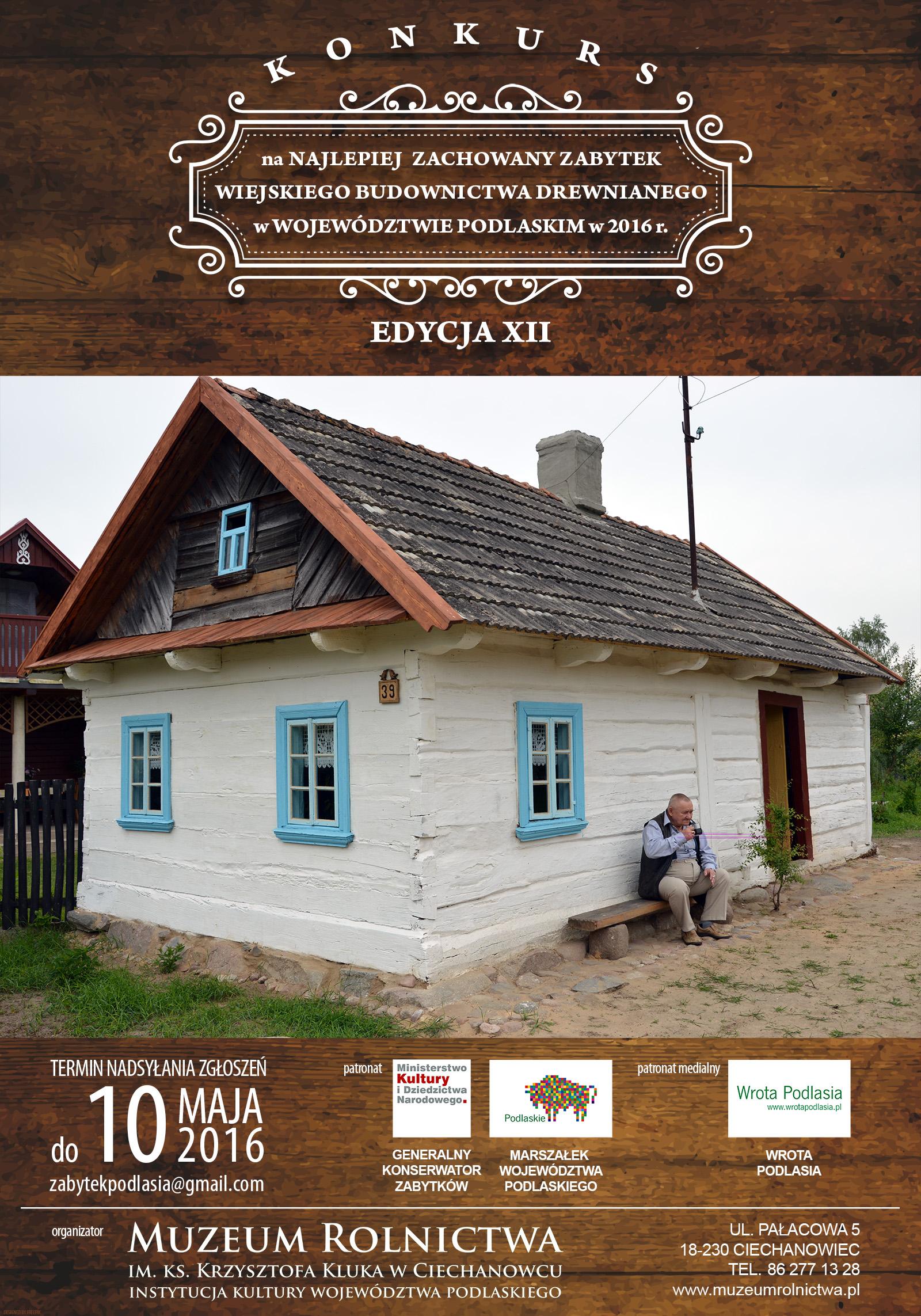 Zabytek Podlasia_2016_PLAKAT