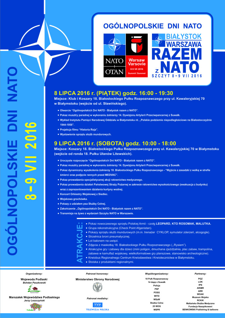 Plakat NATO