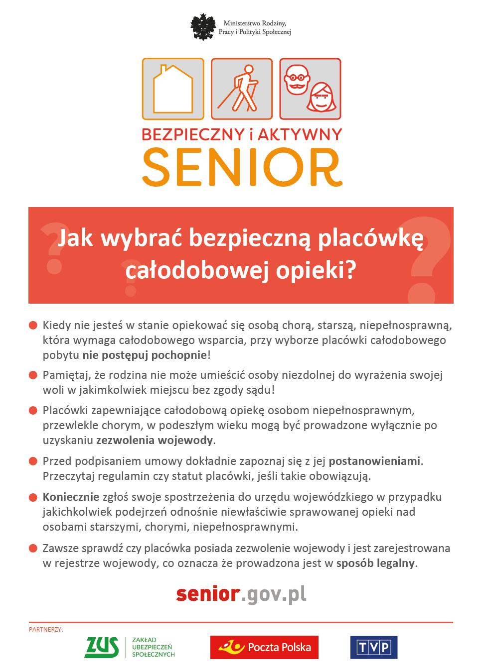 Bezieczny i Aktywny Senior