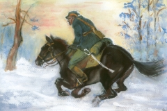 Jeździec konny