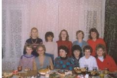 15. Kadra pedagogiczna, barak - 02.12.1989