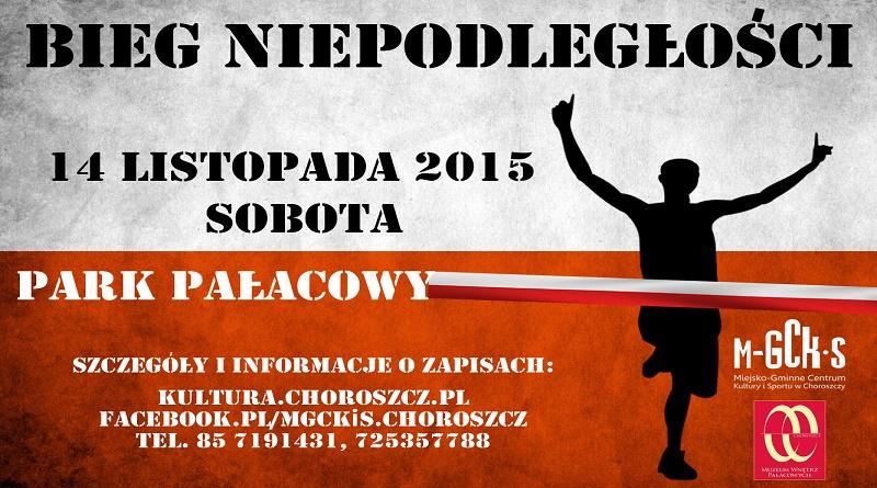 plakat bieg niepodległości gazeta