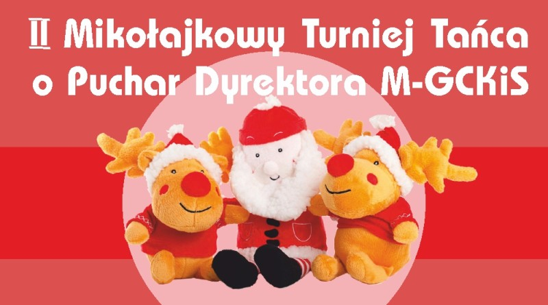 Mikołajkowy Turniej Tańca baner 2