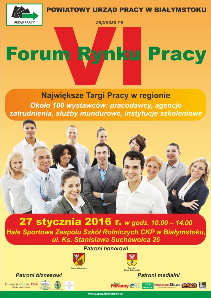 plakat VI Forum Rynku Pracy(1)
