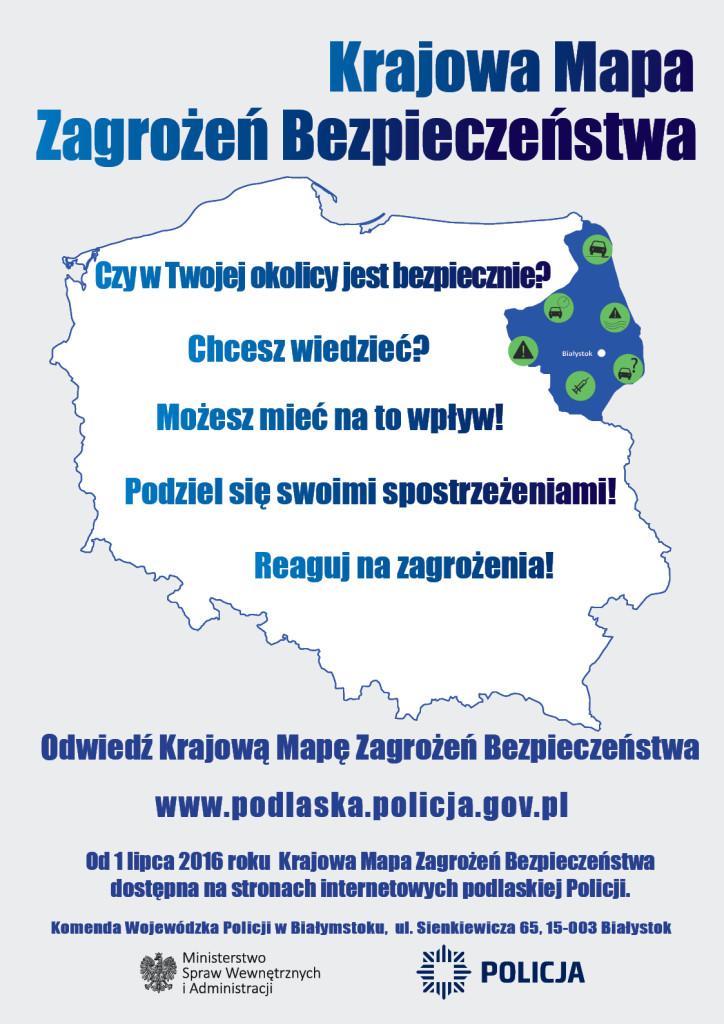 Krajowa Mapa Zagrożeń Bezpieczeństwa w Polsce