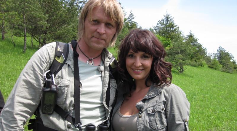 Małgorzata Kosik i Romuald Mikusek - bohaterowie serialu Misja Natura