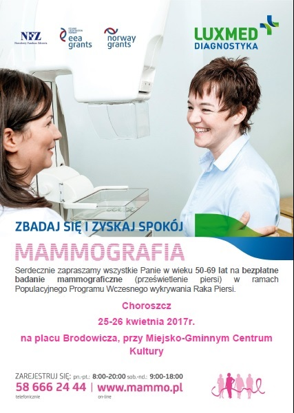 mammografia 2017 plakat