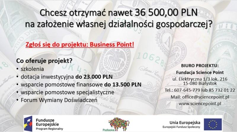 Projekt - dofinansowanie