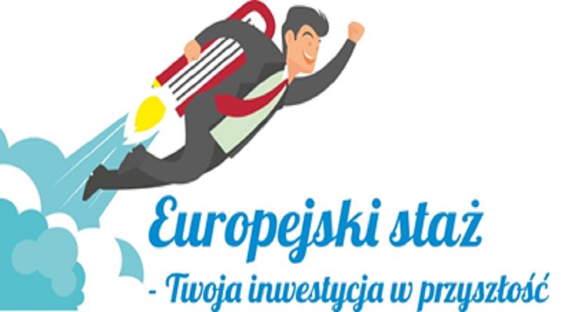 Europejski Staż - ilustracja