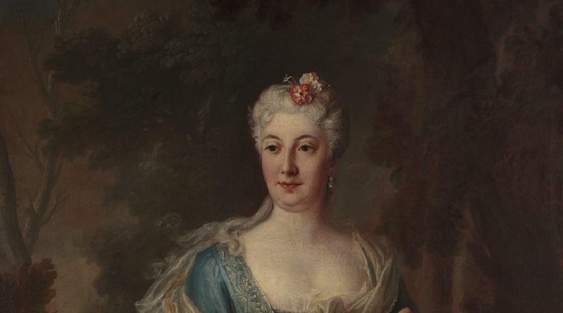 72523; Silvestre Louis de (1675-1760); Portret Katarzyny Barbary z Radziwi³³ów Branickiej (1693-1730); 1728; olej; p³ótno; 146x112