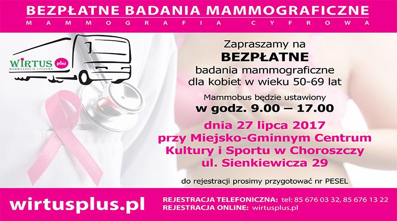 mammografia 27 lipca