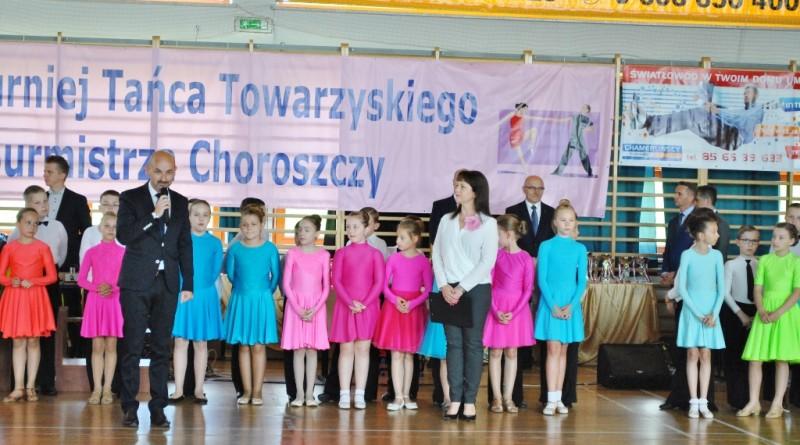 turniej tańca towarzyskiego o puchar burmistrza