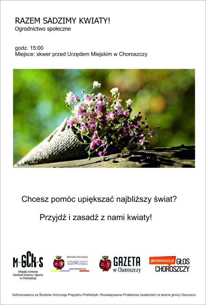 kwiaty plakat